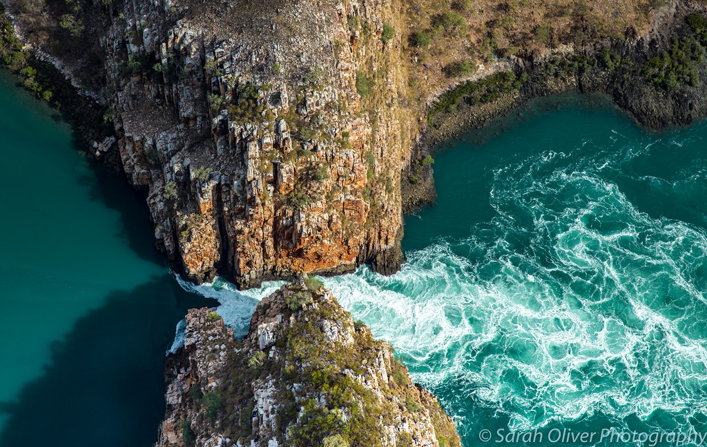 A closer look at just one of the two Horizontal Falls