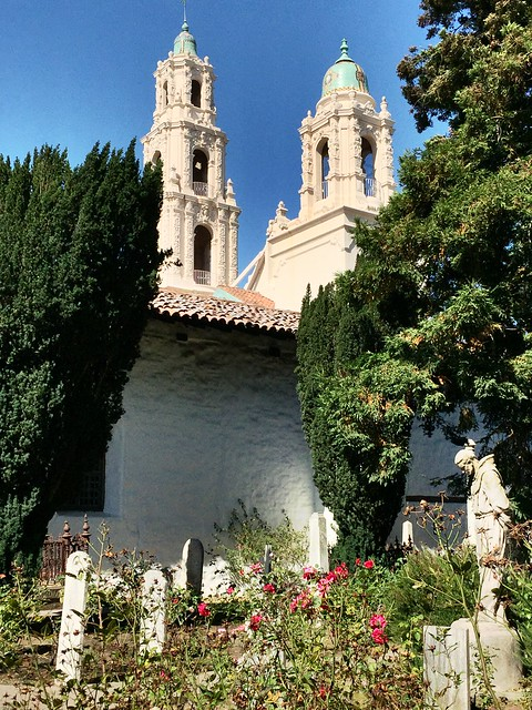Mission Dolores Basilica Frome Cemetery