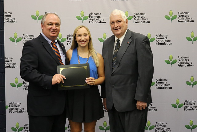 TUSCALOOSA COUNTY STUDENT RECEIVES $1,750 AGRICULTURE FOUNDATION SCHOLARSHIP