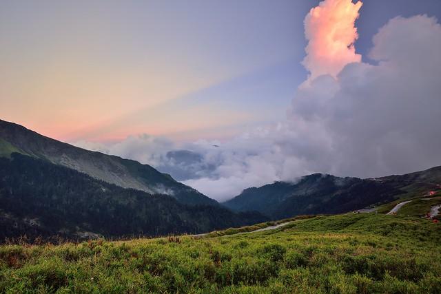 Dusk at Mountain Hehuan