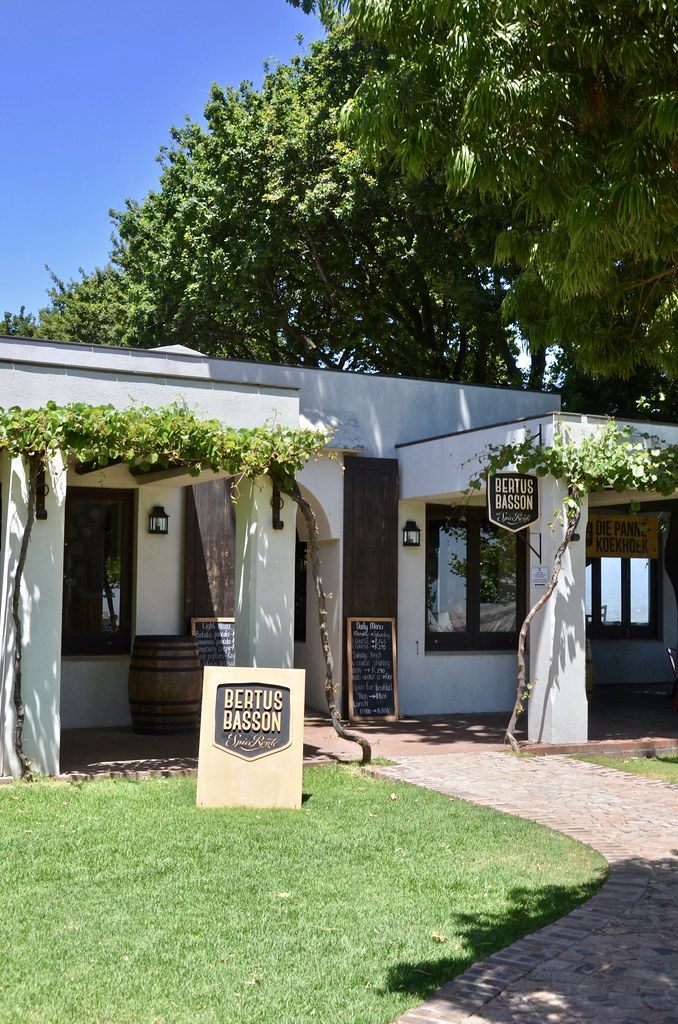 Bertus Basson at Spice Route