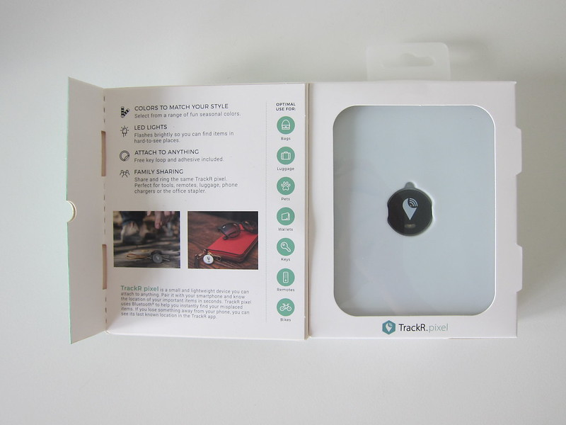 TrackR Pixel - Box Open