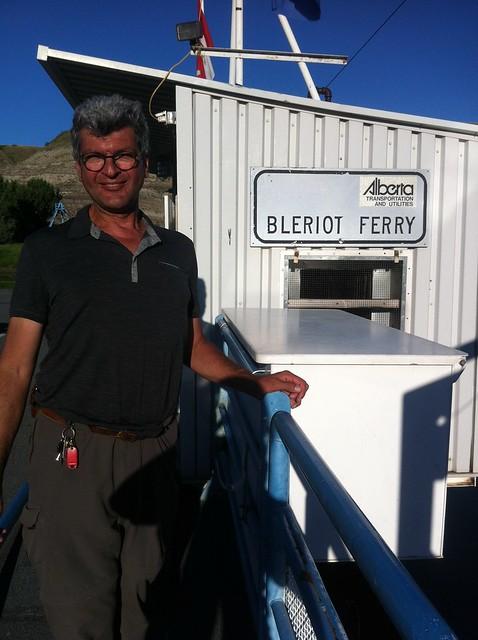 Drumheller Bleriot Ferry
