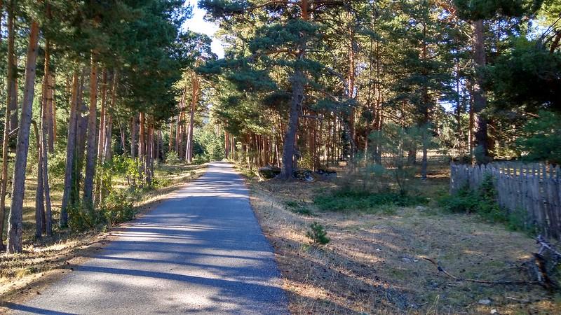 Conectamos con el camino asfaltado para continuar hacia la Chorranca