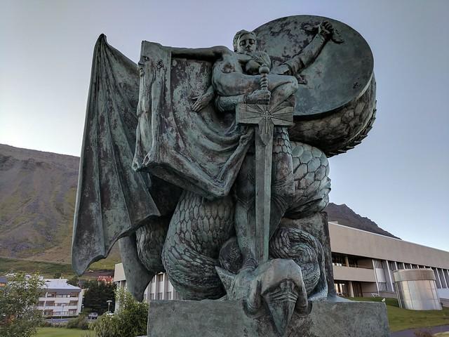 Úr álögum, in Ísafjörður