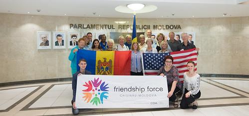 11.09.2017 Vizita la Parlament a celor 16 Ambasadori ai prieteniei din Dayton, Ohio