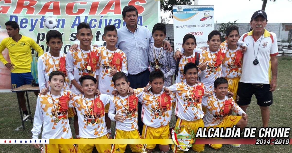 Culminó campeonato Infanto Juvenil Copa Eugenio Tigana Zambrano