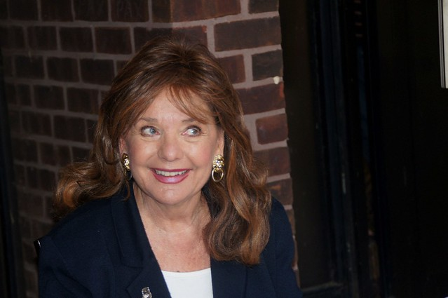 A mischievous and sexy Dawn Wells