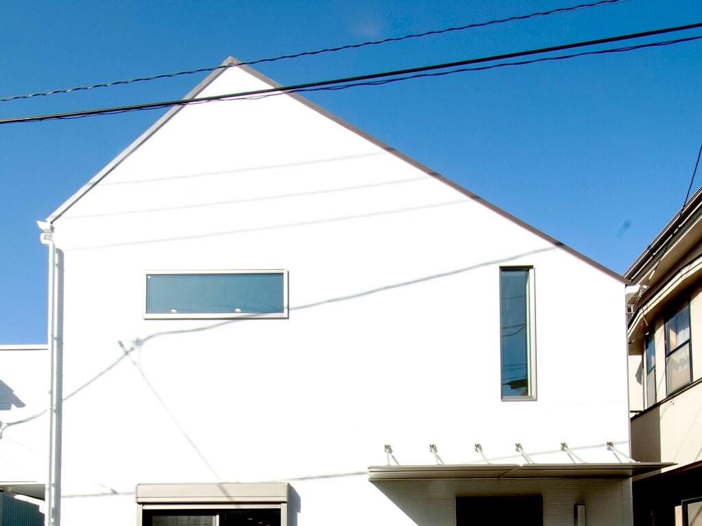 住宅の正面