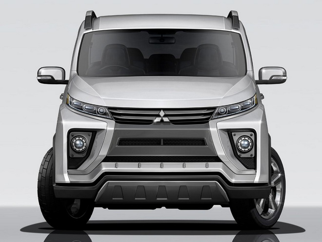 2018-Mitsubishi-Delica-front-rendering