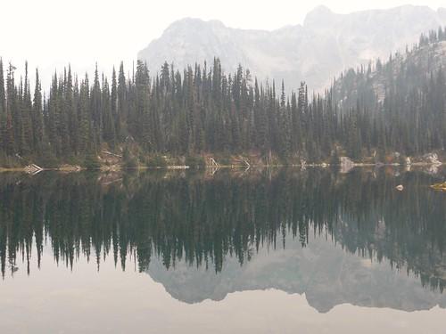 mountrevelstoke pinetrees lake eva reflections landscape mountains