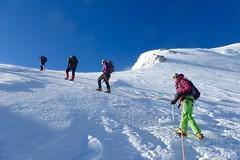 """Aufstieg zum Mount Khuiten """"Chüiten"""", 4374 m, im Altai-Gebirge, Bergsteigen Mongolei. Foto: Thomas Hund."""