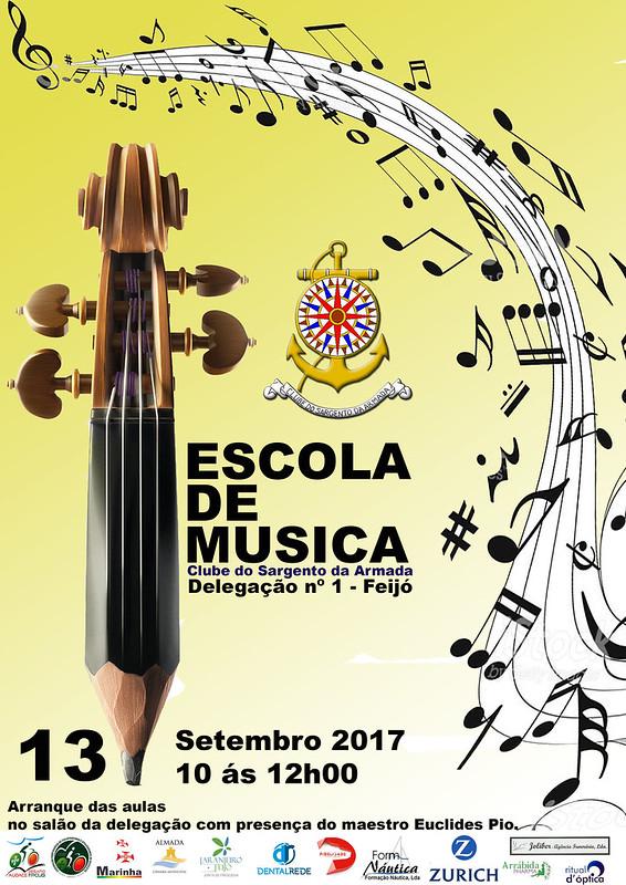 Cartaz Escola de Musica Arranque