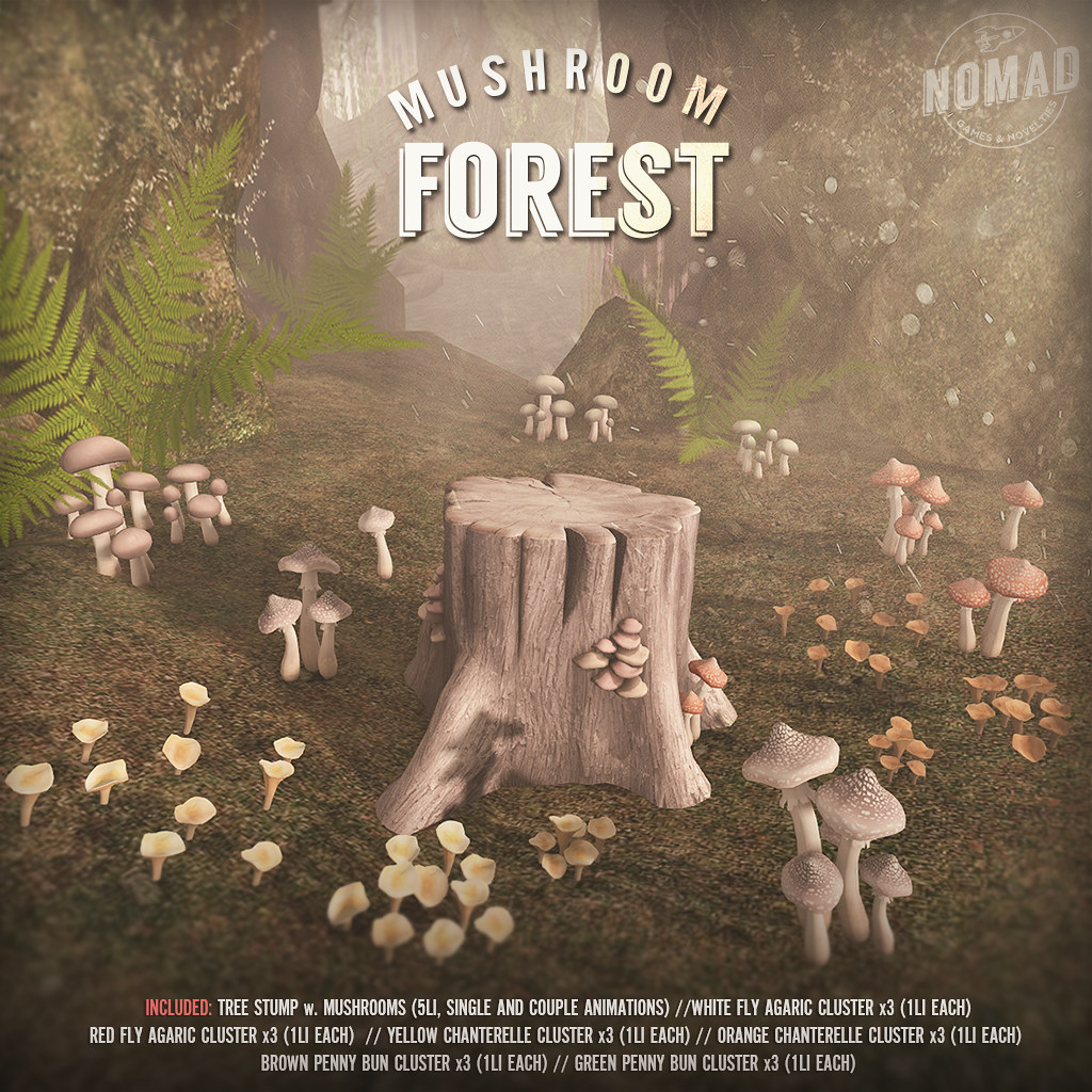 NOMAD // Mushroom Forest - SecondLifeHub.com