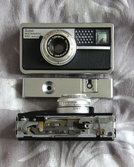 Camera of the Day - Instamatic 500 with top removed