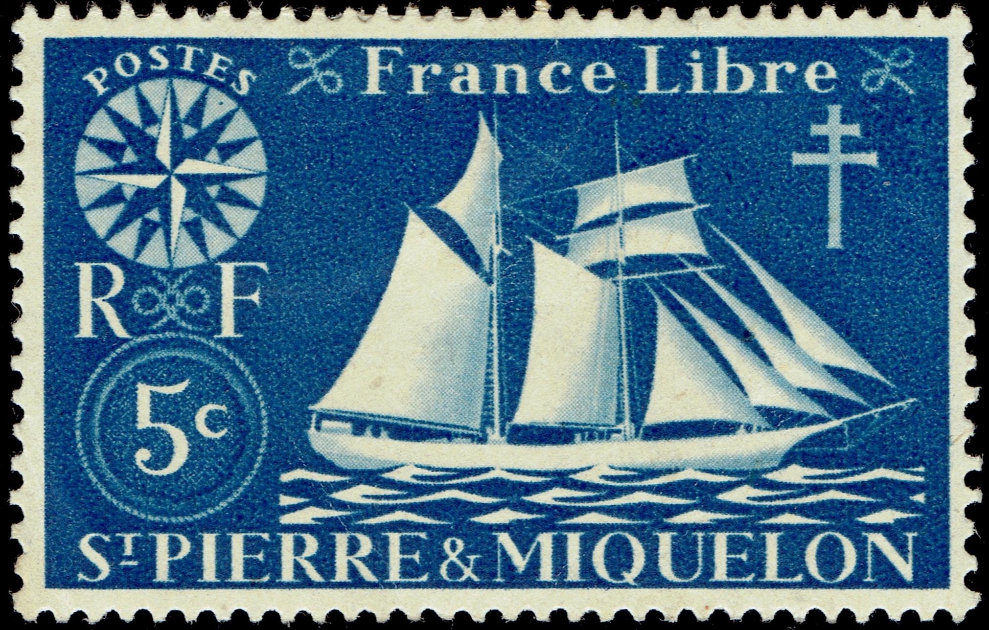 St. Pierre & Miquelon #300 (1942)