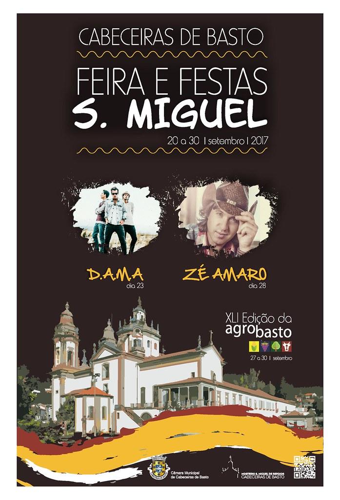 Cartaz 2017 - Feira e Festas de S. Miguel
