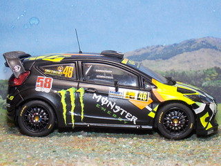 Ford Fiesta RS WRC - Monza 2011 - IXO