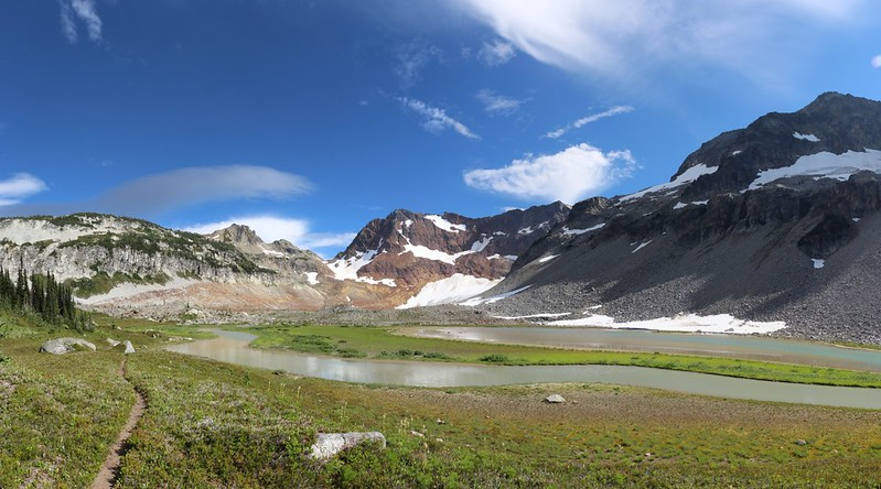 Spider Gap and the Upper Lyman Lakes