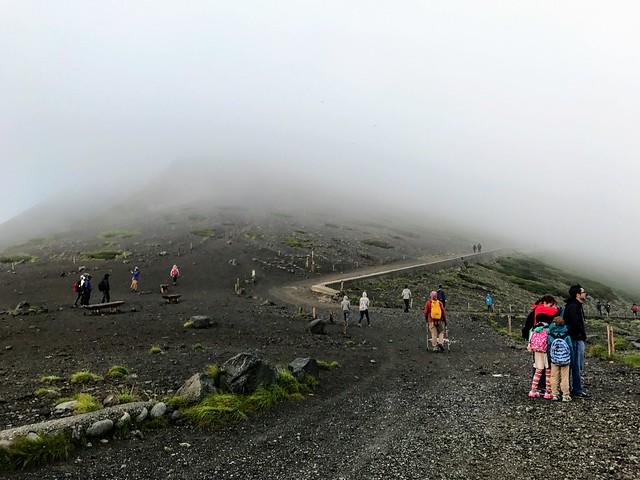 乗鞍岳 県境ゲート分岐