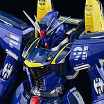 聯邦的藍色閃光 METAL BUILD《機動戰士海盜鋼彈》鋼彈F91(哈里遜.馬汀專用機)【TAMASHII NATION 2017 開展紀念商品】