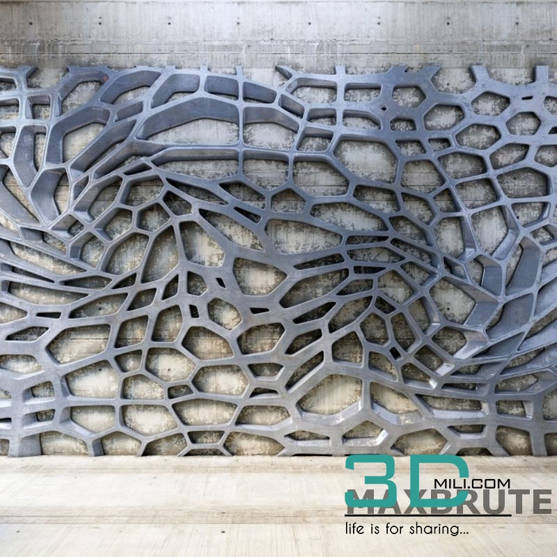 11  Walling 3D Panel - 3D Mili - Download 3D Model - Free 3D