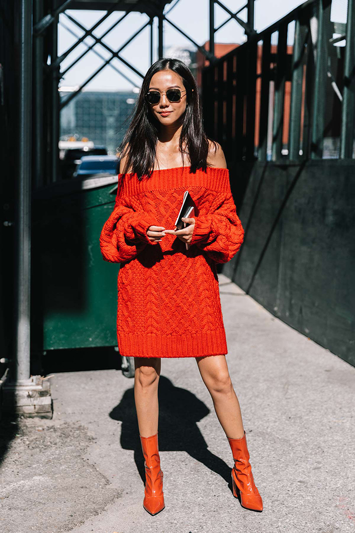 best new york street style fashion week trend style outfit 8