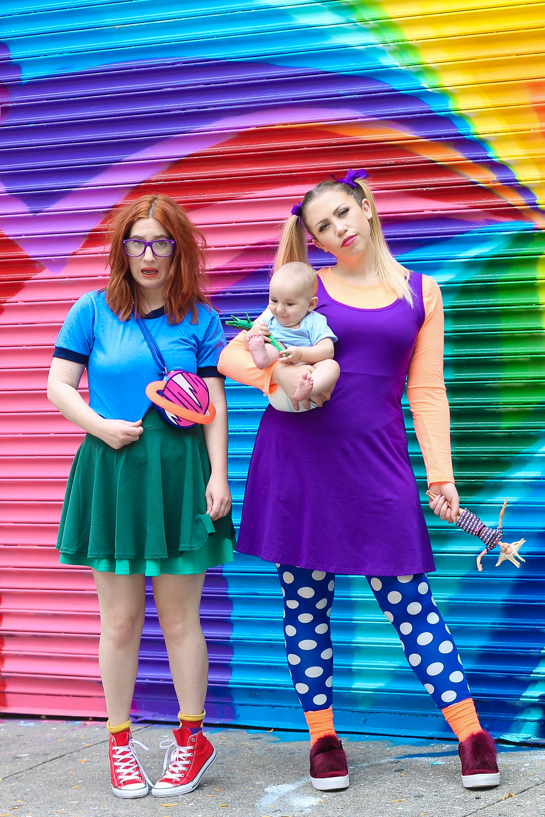 Nickelodeon Rugrats Affordable Halloween Costumes Chuckie Tommy Angelica Funny Friends