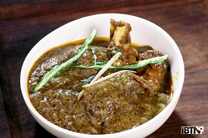 Murshidabadi Matir Harir Kosha Mangsho at Kebab-e-Que, The Astor copy