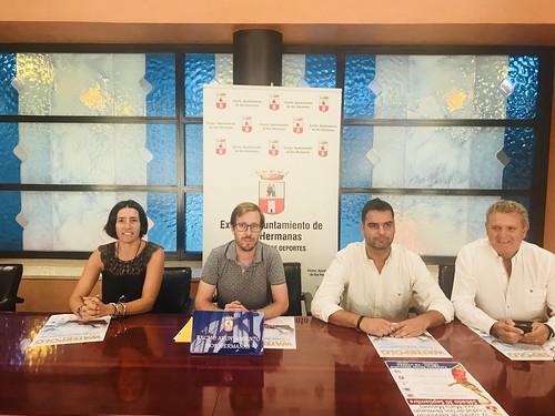 Presentación del XXIX Campeonato de Waterpolo Ciudad de Dos Hermanas