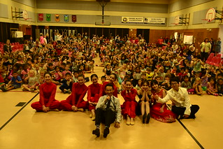 September 20 '17 Xiamen University Arts Troupe Performs at Adobe Bluffs Elementary School