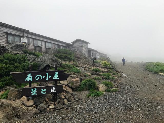 乗鞍岳 肩の小屋