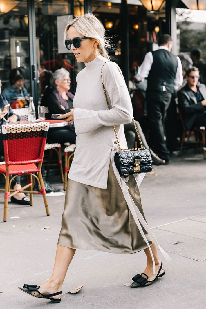 Paris fashion week street style trend style outfit 2017 accessories PFW9