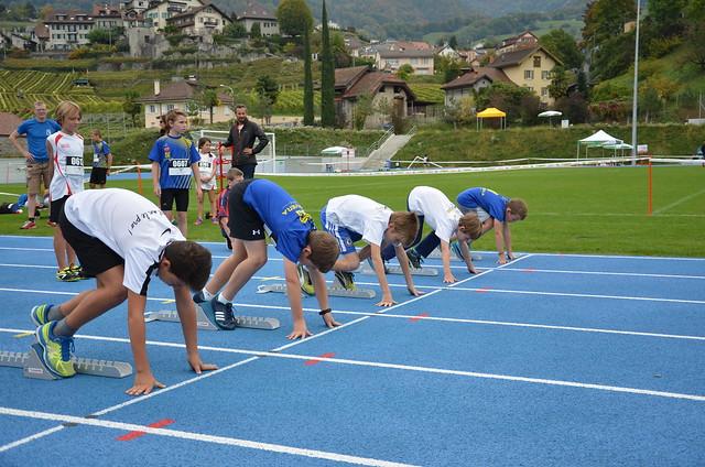 Meeting Max Dössegger 2017 - les sprints