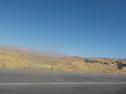 3450mのところまで舗装路がある