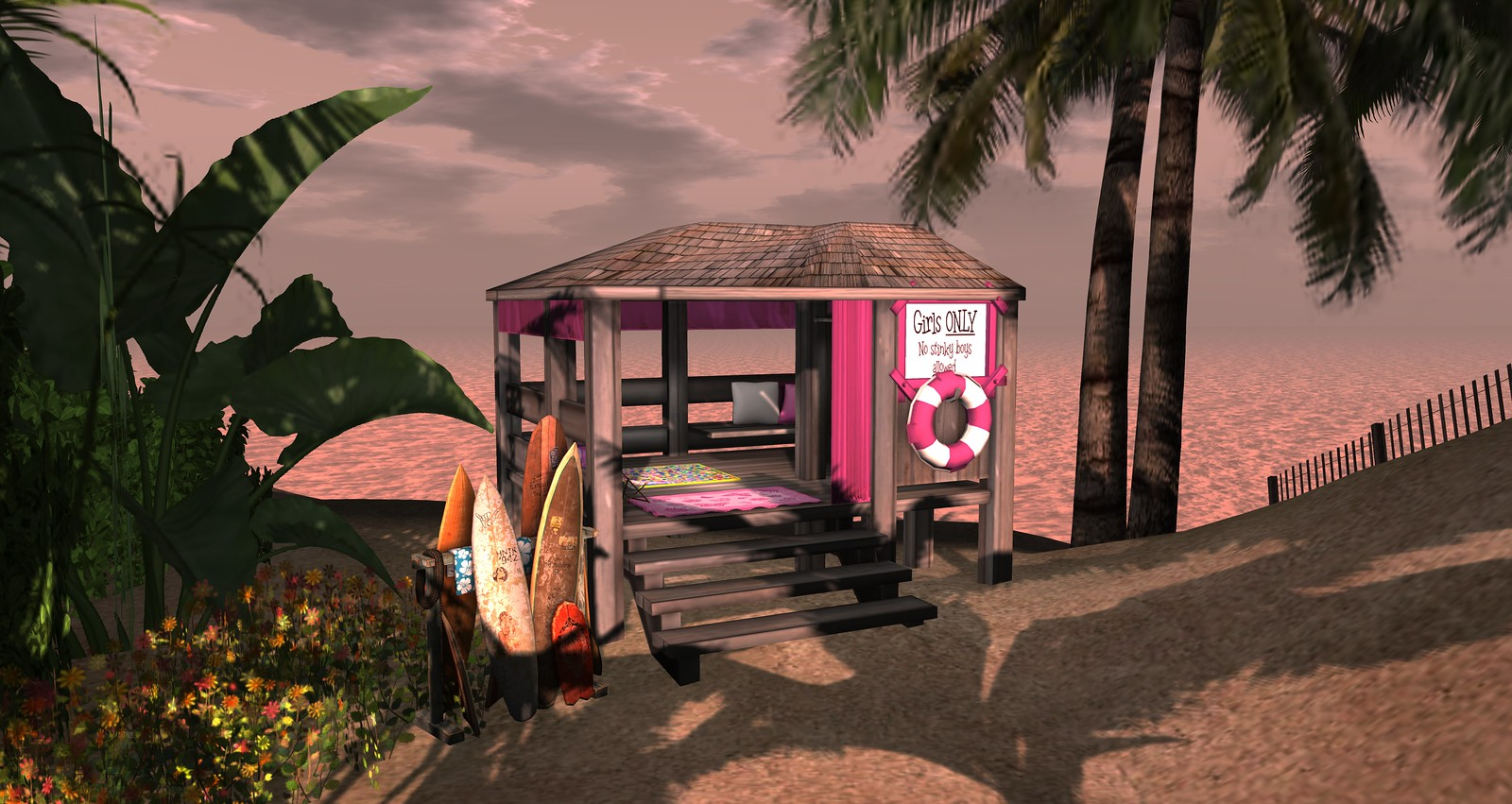 Lovin Summer Beach Time - Hut 2