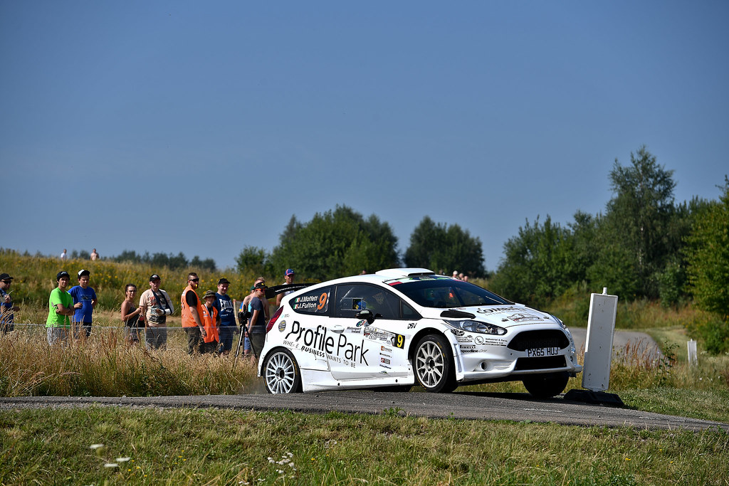 09 MOFFETT Josh (IRL) FULTON James (IRL) Ford Fiesta R5 action during the 2017 European Rally Championship Rally Rzeszowski in Poland from August 4 to 6 - Photo Wilfried Marcon / DPPI
