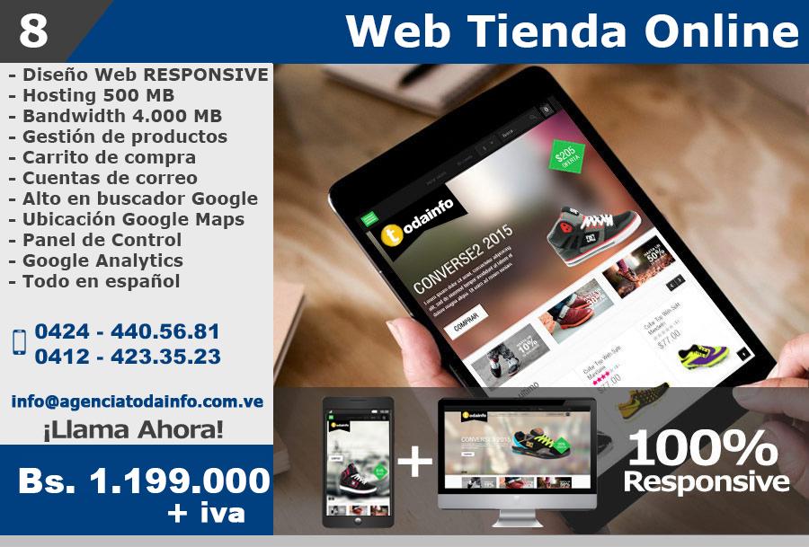 8 WEB TIENDA ONLINE