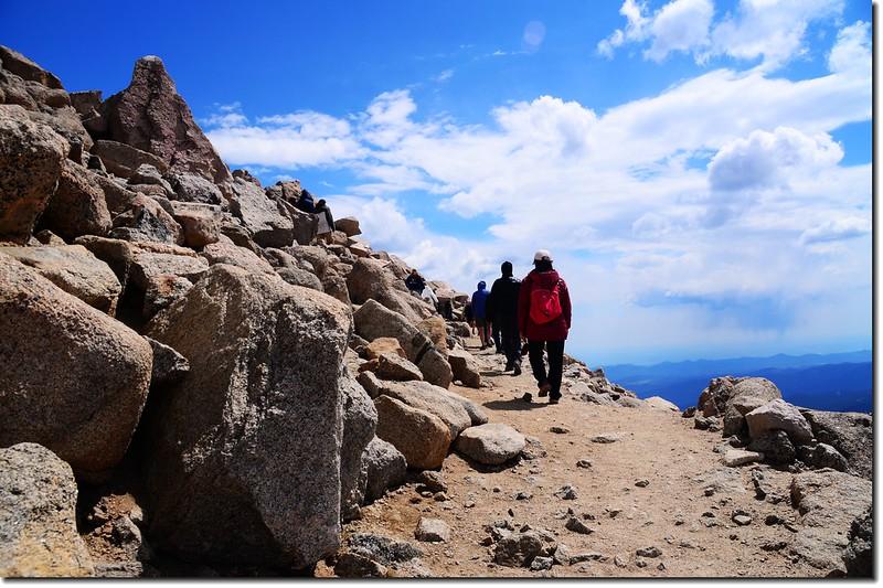登頂Mount Evans