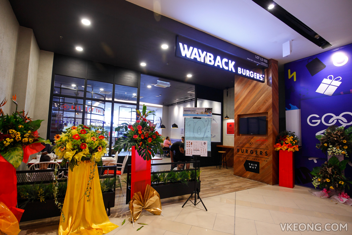 Wayback Burgers Melawati Mall KL
