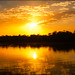 Sunset on the Gambia river