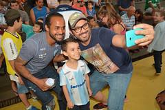12-08-2017: Dia dos Pais na Escola Municipal Professor Carlos da Costa Branco