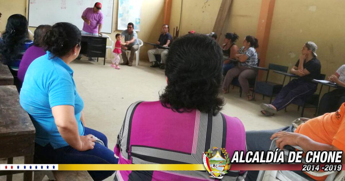Alcaldía de Chone socializó creación de comuna campesina