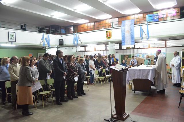 Profesión de fe de la nueva directora del Profesorado del Sáenz
