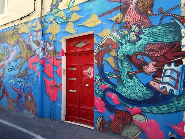 Street art, Canon IXUS 155