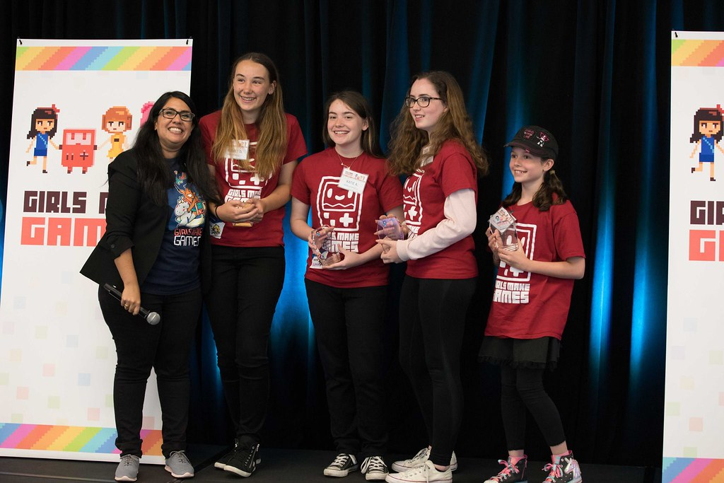 Girls Make Games: Team Invenio