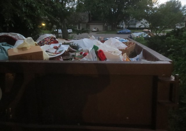 Another dumpster full