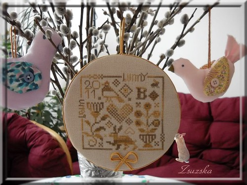 Ewe and Eye and Friends , cross stitch, easter (2)