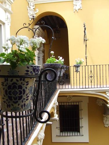 Talavera y flores