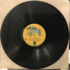 JOYCE SIMS:WALKAWAY(RECORD SIDE-B)
